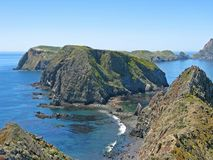 Inspiration Point, Anacapa  Royalty Free Stock Photos