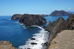 Inspiration Point. Anacapa Island, California royalty free stock images