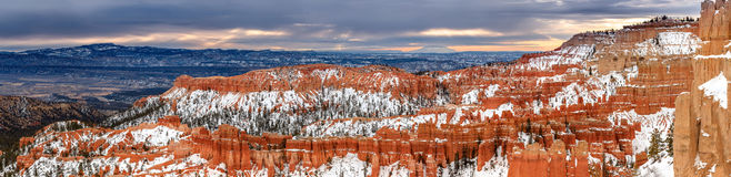 Inspiration Point at Bryce Canyon Royalty Free Stock Photo