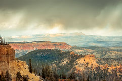 Inspiration Point , Bryce Canyon royalty free stock image