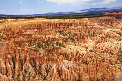 Inspiration Point Bryce Canyon National Park Utah. Amphitheater Hoodoos Inspiration Point Bryce Canyon National Park Utah royalty free stock photo