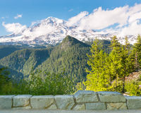 Inspiration Point, Mount Rainier, Mount Rainier Na Royalty Free Stock Images
