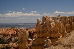 Inspiration Point Overlook D. Inspiration Point Overlook in Bryce Canyon National Park, Utah royalty free stock image