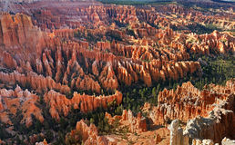 Inspiration Point at sunrise, Bryce Canyon Royalty Free Stock Photo