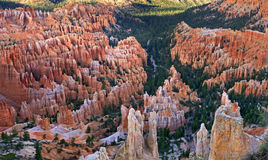 Inspiration Point at sunrise, Bryce Canyon Stock Image