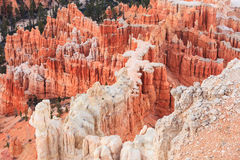 Inspiration Point at sunrise, Bryce Canyon National Park, Utah, Royalty Free Stock Photos