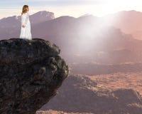Inspiration, renaissance spirituelle, paix, amour d'espoir Image stock
