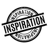 Inspiration rubber stamp Royalty Free Stock Photography