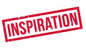 Inspiration rubber stamp. Inspiration, rubber stamp on white. Print impress overprint Royalty Free Stock Image