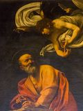 The Inspiration of St. Matthew by Caravaggio