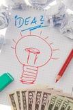 Inspiration und Ideen mit Fühler. Stockbilder
