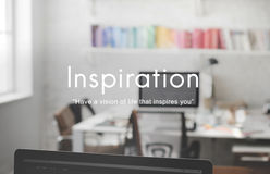 Inspiration Vision Aspirations Ability Creative Concept Royalty Free Stock Photos