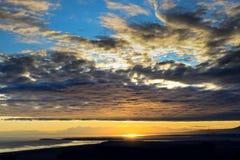 Inspirational Alaskan Sunset Stock Photos