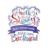 Inspirational citaat door Abraham Lincoln Stock Foto