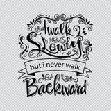 Inspirational citaat door Abraham Lincoln Stock Fotografie