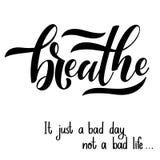 Inspirational citaten voor Geestelijke Gezondheidsdag royalty-vrije illustratie