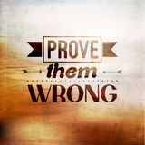 Inspirational and encouraging quote typography Stock Photo