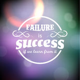 Inspirational and encouraging quote royalty free illustration