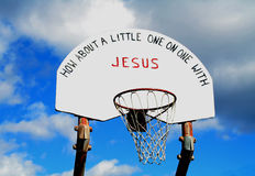 Inspirational Hoops Royalty Free Stock Image