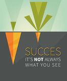 Inspirational motivating quote Stock Photography