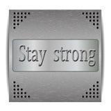 Inspirational motivational quote Stock Photos