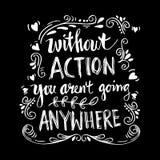 Inspirational motiverende citaten door Mahatma Gandhi Royalty-vrije Stock Foto's