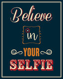 Inspirational quote. Stock Photos