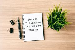 Life Inspirational quote royalty free stock photo