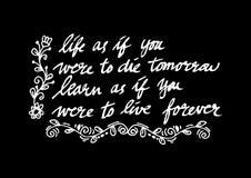 Inspirational quote by Mahatma Gandhi vector illustration