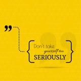 Inspirational quote vector Stock Photos