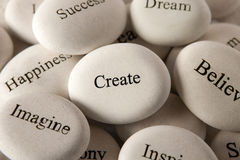 Inspirational stones - Create stock photos