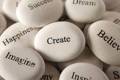 Inspirational stones - Create Stock Photos