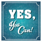 Inspirational text. Typographic design. , vector illustration Royalty Free Stock Photography