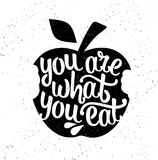 Inspirational vector typography. Stock Photography