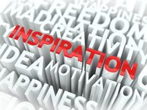 Inspirations-Konzept. Lizenzfreies Stockbild