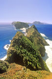 Inspirations-Punkt auf Anacapa-Insel, Kanal-Inseln Nationalpark, Kalifornien lizenzfreies stockfoto