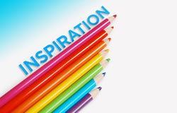 Inspirationshintergrundkonzept Lizenzfreie Stockfotografie