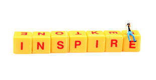 Inspire. Your workers for more productivity royalty free stock photo