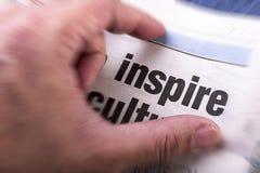 inspire lizenzfreies stockfoto