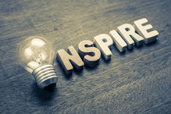 Inspire Bulb stock images
