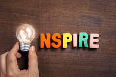 Inspire Bulb Stock Photos
