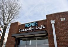 Inspire Community Cafe, Memphis, TN. Our mission is to nourish community change by creating living wage jobs, healthy & delicious food and an inspiring gathering royalty free stock photography