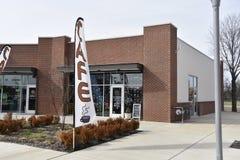Inspire el café y el restaurante, Memphis, TN de la comunidad imagen de archivo libre de regalías