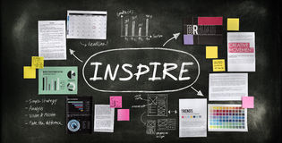 Inspire Influencing Motivation Goal Concept Royalty Free Stock Image