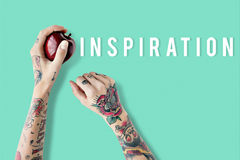 Inspire inspiration positivity word concept. Inspire inspiration Positive positivity word stock photography
