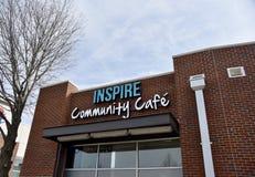 Inspirera gemenskapkafét, Memphis, TN royaltyfri fotografi