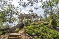 Inspirerad arkitektur för asiat Arkivbild