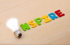 inspirez Photographie stock libre de droits
