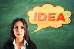 Inspirez et pensez le concept image libre de droits