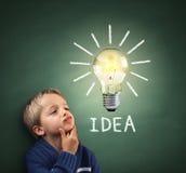 Inspirierend Idee Lizenzfreie Stockfotografie